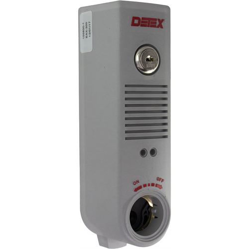 Detex EAX500 Surface Mount Battery Alarm Gray Finish