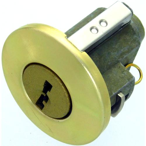 Kwikset 137523 Hancock Cylinder Bright Brass Finish