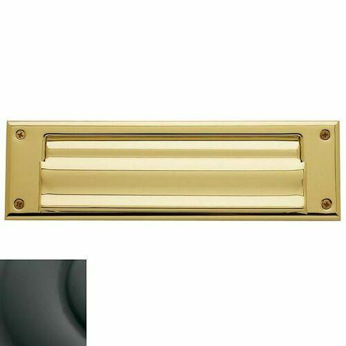 Baldwin 0017102 Letter Box Plate Oil Rubbed Bronze Finish