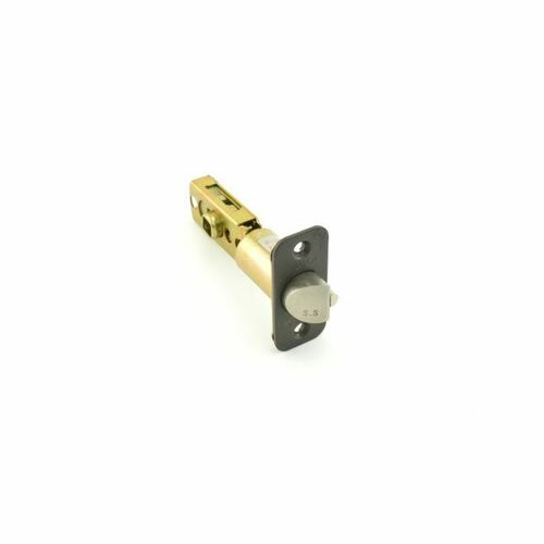 Hager 395410B Adjustable Square Corner Dead Latch for 3600 Series Oil Rubbed Bronze Finish