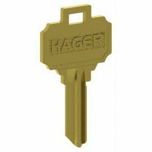 Hager 3955 5 Pin C Keyway Key Blank