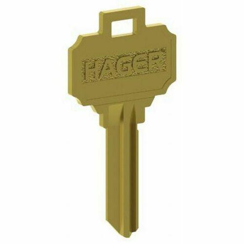 Hager 3956 6 Pin C Keyway Key Blank