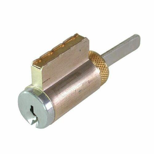 GMS K001SC26DA2 Keyed Alike K2 Knob / Lever Cylinder with Schlage C Keyway Satin Chrome Finish